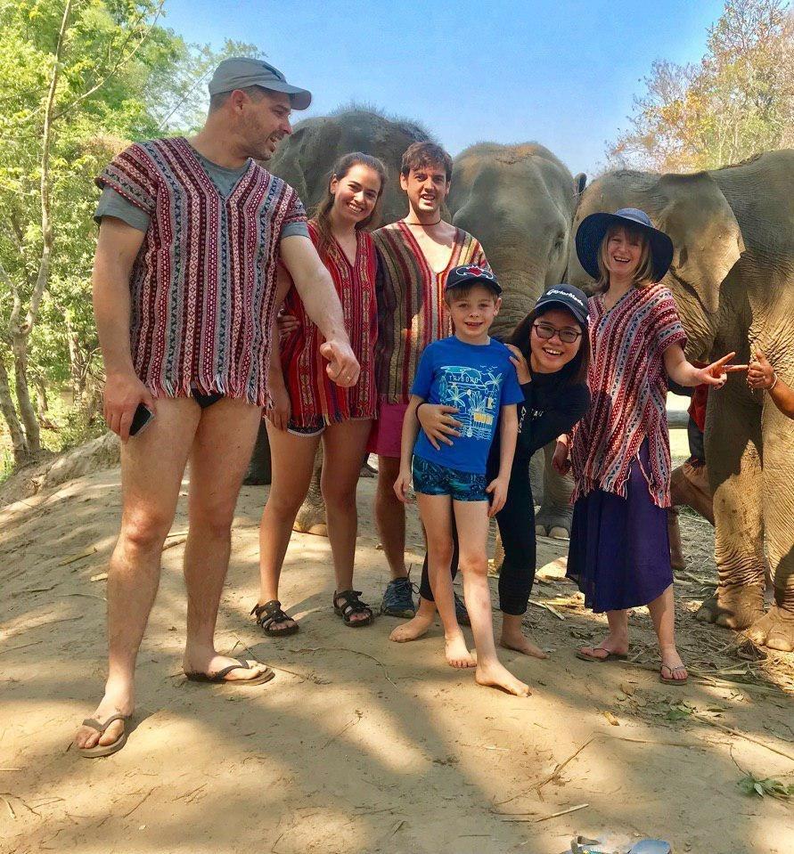 Family day elephant sanctuary 24th February 2019 Respectful